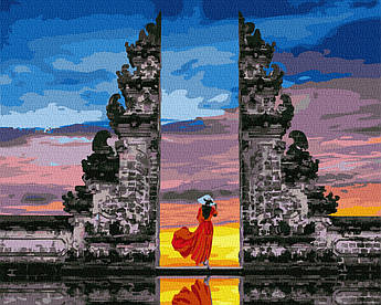 Картина за номерами Ворота в рай 40 х 50 см (BK-GX37987)