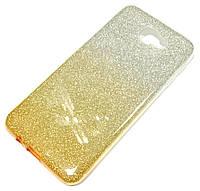 Чохол силіконовий Shiny з блискітками для Samsung Galaxy J5 Prime G570f