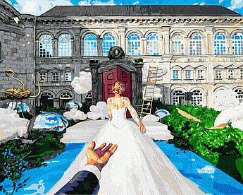 Картина за номерами Слідуй за мною. Весілля 40 х 50 см (BK-GX37991)