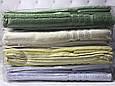 "Набор турецких полотенец 2шт. Soft cotton ""Aria green"", фото 2"
