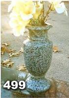 Вазы из гранита на могилу, гранитная ваза на кладбище образец № 499