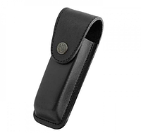 Чохол для ножа на кнопці. Чорний. 13 см