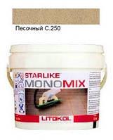 Monomix С.250 ведро 2,5 кг (песочный) - однокомпонентный полиуретановый шовный заполнитель, Litokol