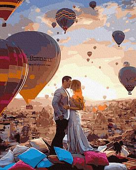 Картина за номерами Поцілунок в Кападокії 40 х 50 см (BK-GX39291)