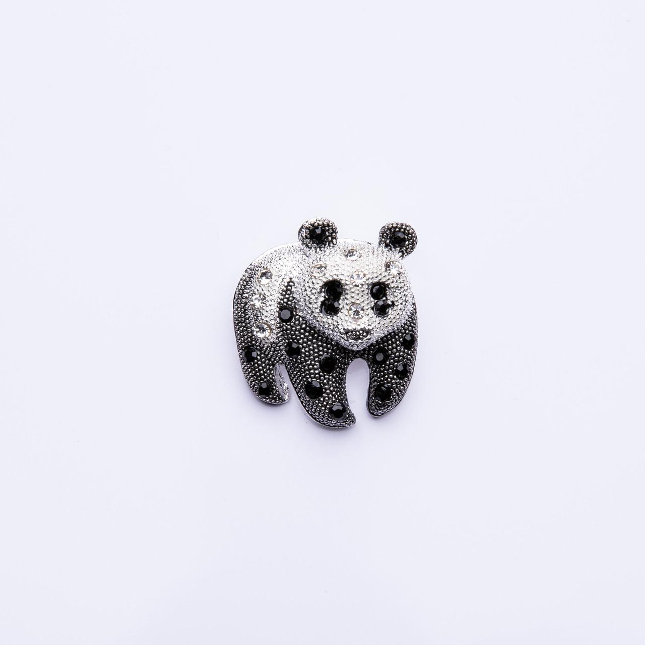 """Брошка """"Панда"""" 30х35мм"""