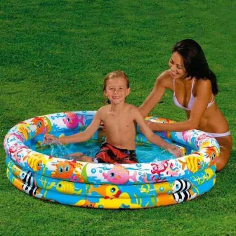 Дитячий надувний круглий басейн Intex арт. 59431