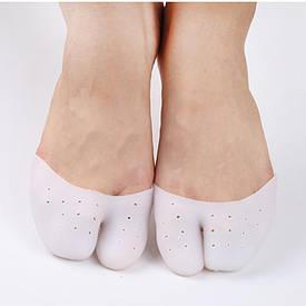 Силиконовые полуносочки на пальцы ног, вкладыши в туфли, в пуанты