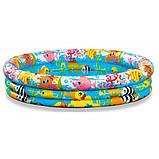 Дитячий надувний круглий басейн Intex арт. 59431, фото 4