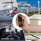 Анемометр Norm GM30 (измеритель скорости ветра до 30 м/с), фото 5