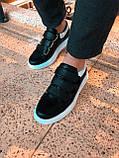 Чоловічі кросівки. Шкіряні кросівки на липучках., фото 2