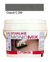 Monomix С.280 ведро 1 кг (серый) - однокомпонентный полиуретановый шовный заполнитель, Litokol