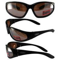 Спортивні окуляри захисні Hercules-1 коричневі лінзи