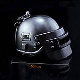 Брелок для ключів у вигляді шолома PUBG, фото 3
