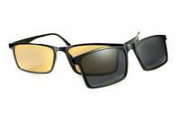 """Водійські окуляри антифара для денного та нічного водіння """"HD"""" (2в1), фото 1"""