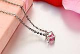 Парні кулони для закоханих Алмазний куб, фото 7