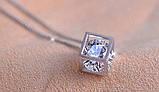 Парні кулони для закоханих Алмазний куб, фото 10