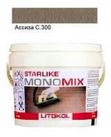 Monomix С.300 ведро 2,5 кг (асиза) - однокомпонентный полиуретановый шовный заполнитель, Litokol