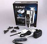 Професійний тример, окантовочна машинка Kemei Km-5027, фото 2