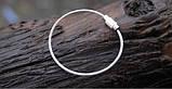 Металеве кільце тросик, фото 4