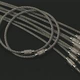 Металеве кільце тросик, фото 5