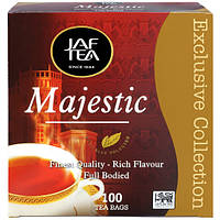 Чай в пакетиках черный JAF Мажестик 100 п.