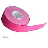 Кинезио тейп Kinesiology Tape 2,5 см х 5м, фото 3