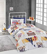 Комплект постельного белья ТМ First Choice ранфорс молодежный Focus
