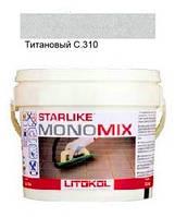 Monomix С.310 ведро 2,5 кг (титановый) - однокомпонентный полиуретановый шовный заполнитель, Litokol