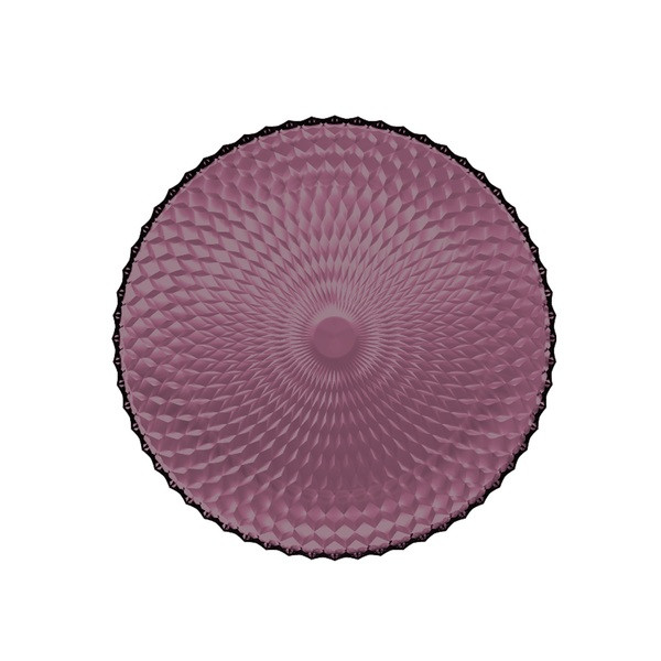 Тарілка кругла 25см Luminarc Idylle lilak