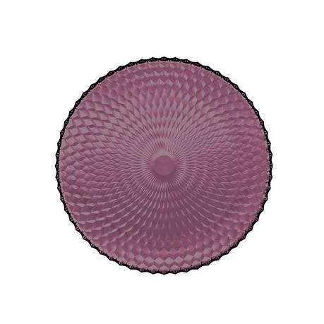 Тарілка кругла 25см Luminarc Idylle lilak, фото 2