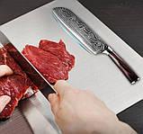 Нож шеф-повара 7 дюймов Sande, фото 4