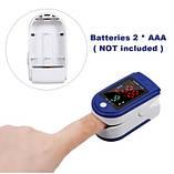 Пульсоксиметр Fingertip Pulse Oximeter LK87, фото 3