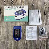 Пульсоксиметр Fingertip Pulse Oximeter LK87, фото 4