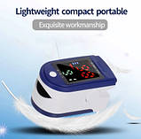 Пульсоксиметр Fingertip Pulse Oximeter LK87, фото 7