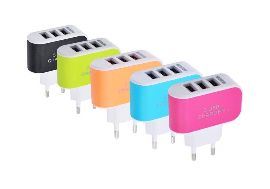 Зарядное устройство на 3 USB LANDFOX