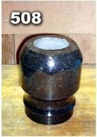 Гранитные вазы для надгробных памятников образец № 508