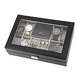 Скринька органайзер для зберігання годинників, фото 4