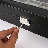 Скринька органайзер для зберігання годинників, фото 5