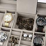 Скринька органайзер для зберігання годинників, фото 6