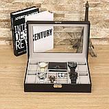 Скринька органайзер для зберігання годинників, фото 8
