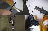 Выкидной нож стилет Browning B-777, фото 4