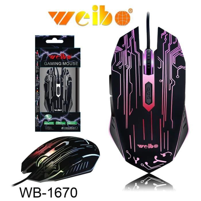Ігрова миша Weibo WB-1670 3200 Dpi