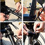 Велосигнализация с пультом ZREAL 110db, фото 8
