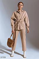 Джинсовая куртка-рубашка S M L