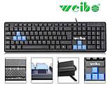 Клавиатура Weibo WB-711 USB, фото 4
