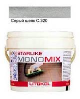 Monomix С.320 ведро 1 кг (серый шелк) - однокомпонентный полиуретановый шовный заполнитель, Litokol