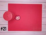 Цветная вощина для изготовления свечей, малиновый, лист 20х26 см, фото 2