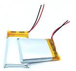 Аккумулятор литий-полимерный 850mAh 3.7V 802540, фото 2
