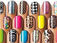 Набор для дизайна ногтей Fab Foils | Ногтевые наклейки | Декор для ногтей