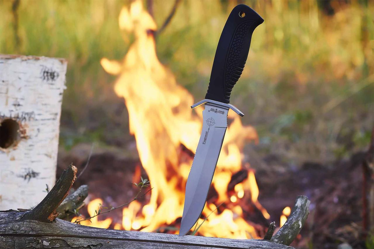 Нож Силач ,отличная сталь +чехол